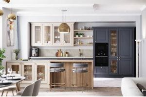 Кухня прямая массив Borgo - Мебельная фабрика «Мария»