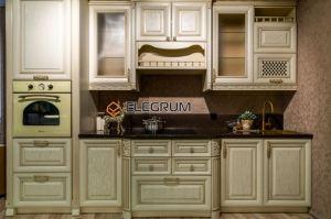 Кухня прямая Массив Дуба - Мебельная фабрика «ELEGRUM»