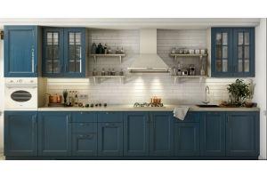 Кухня прямая массив Lavanda - Мебельная фабрика «AlvaLINE»
