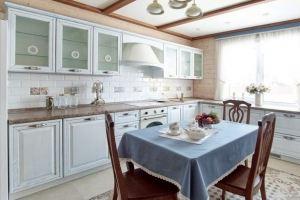 Кухня прямая массив Регина - Мебельная фабрика «Rits»