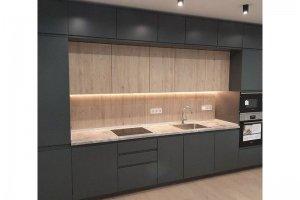 Кухня прямая матовая - Мебельная фабрика «Елиза»