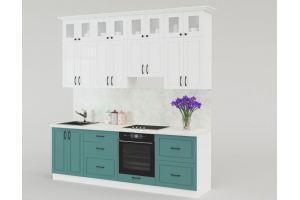 Кухня прямая МДФ - Мебельная фабрика «Идея комфорта»