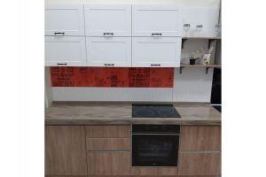 Кухня прямая МДФ эмаль - Мебельная фабрика «Гранд Мебель 97»