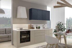 Кухня прямая Меридиана - Мебельная фабрика «Эстель»