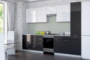 Кухня прямая Мила Глосс - Мебельная фабрика «Центр мебели Интерлиния»