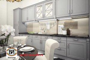 Кухня прямая Монталия 161 - Мебельная фабрика «Монолит»