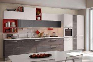 Кухня прямая N-15 - Мебельная фабрика «Ника»