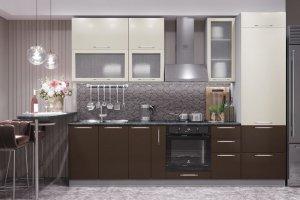 Кухня прямая N-25 - Мебельная фабрика «Ника»
