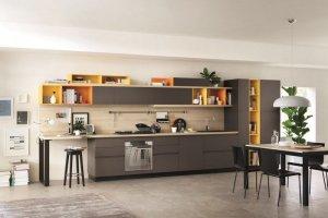 Кухня прямая Надежда - Мебельная фабрика «LEVANTEMEBEL»