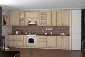 Кухня прямая НЕАПОЛЬ - Мебельная фабрика «Классика Мебели»