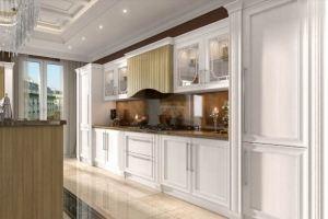 Кухня прямая неоклассика Комо - Мебельная фабрика «НиксМебель»