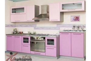 Кухня прямая нежная Ирен - Мебельная фабрика «Меркурий»