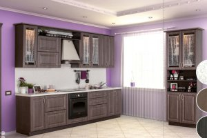 Кухня прямая Nobi - Мебельная фабрика «Мебелькомплект»