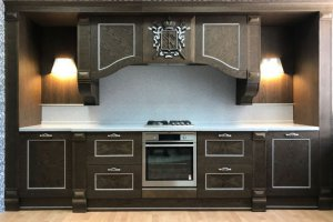 Кухня прямая Пальмира - Мебельная фабрика «Альфа-Пик»