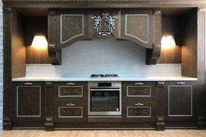 Кухня прямая Пальмира - Мебельная фабрика «Кухни Альфа»