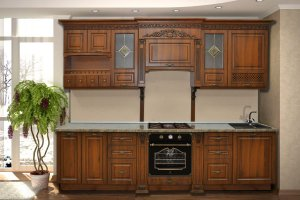Кухня прямая Патриция - Мебельная фабрика «Прометей»