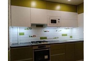 Кухня прямая пластик - Мебельная фабрика «Декорум»