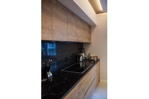 Кухня прямая под потолок - Мебельная фабрика «Wood&Wool»