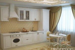 Кухня прямая Прогресс - Мебельная фабрика «Прогресс»