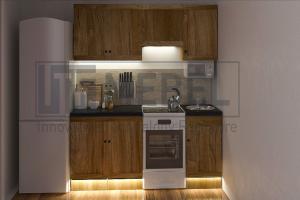 Кухня прямая Provance Proekt 1 - Мебельная фабрика «ITF Mebel»