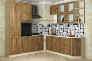 Кухня прямая Provance Proekt 7 - Мебельная фабрика «ITF Mebel»