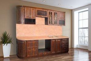 Кухня прямая Ретро-2 - Мебельная фабрика «ЛиО»