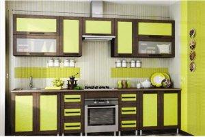 Кухня прямая Рио 1 - Мебельная фабрика «МИГ»