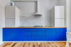 Кухня прямая с фасадами Simpel 7 - Мебельная фабрика «Меранти М»