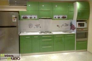 Кухня прямая с плёночными фасадами - Мебельная фабрика «ДИВО»
