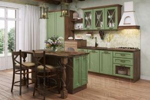 Кухня прямая Соло - Мебельная фабрика «Гармония мебель»