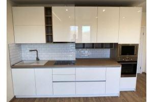 Кухня прямая суперглянец Акрил - Мебельная фабрика «Алмаз-мебель»