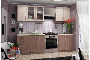 Кухня прямая Татьяна - Мебельная фабрика «КРОФУС»
