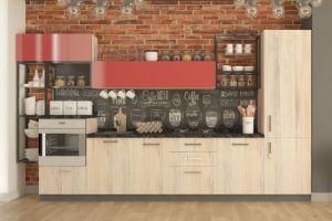 Кухня прямая Техас - Мебельная фабрика «Акварель»