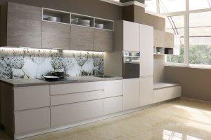 Кухня прямая удлиненная CITY - Мебельная фабрика «KUCHENBERG»