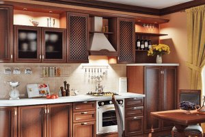 Кухня прямая в классическом стиле - Мебельная фабрика «ДОН-Мебель»