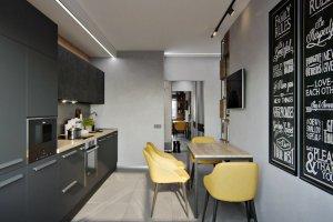Кухня прямая в стиле Лофт - Мебельная фабрика «ЮЛИС»