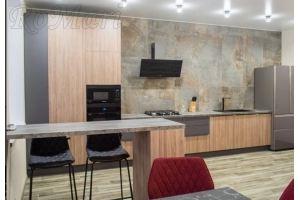 Кухня прямая в стиле Лофт - Мебельная фабрика «RoMari»
