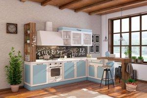 Кухня прямая Винтаж - Мебельная фабрика «Первая мебельная фабрика»