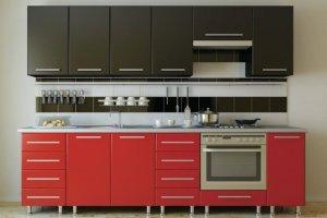 Кухня прямая Виолла - Мебельная фабрика «Трио»