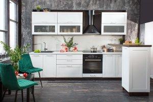 Кухня прямая Вирджиния - Мебельная фабрика «Сурская Мебель»