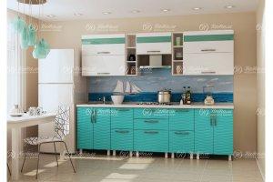 Кухня прямая Волна 3Д - Мебельная фабрика «Натали»
