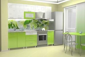 Кухня прямая Золушка 1,8м - Мебельная фабрика «Премиум»