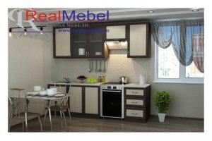 КУХНЯ РАМОЧНАЯ прямая - Мебельная фабрика «RealMebel»
