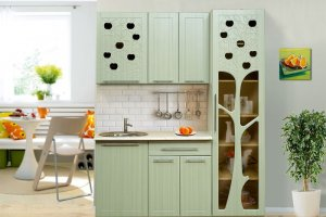 Кухня Райские яблочки - Мебельная фабрика «Аджио»