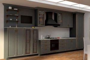Кухня Retro - Мебельная фабрика «Мебелькомплект»