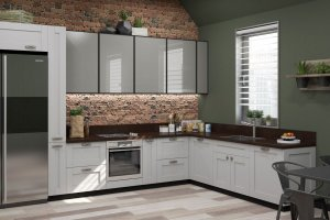 Кухня Рим с рамочным фасадом - Мебельная фабрика «Ликарион»