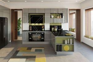 Кухня Рина Гласс - Мебельная фабрика «Кухонный двор»
