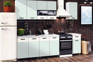 Кухня ЛДС РМО Мята - Мебельная фабрика «МиФ»