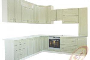 Кухня Ромис 4 угловая с фасадами из МДФ - Мебельная фабрика «Ромис» г. Краснодар