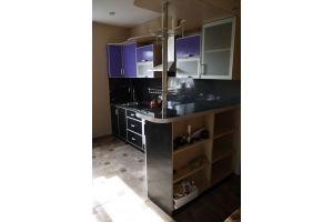 Кухня с барной стойкой - Мебельная фабрика «НКМ»